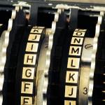 Enigma close-up